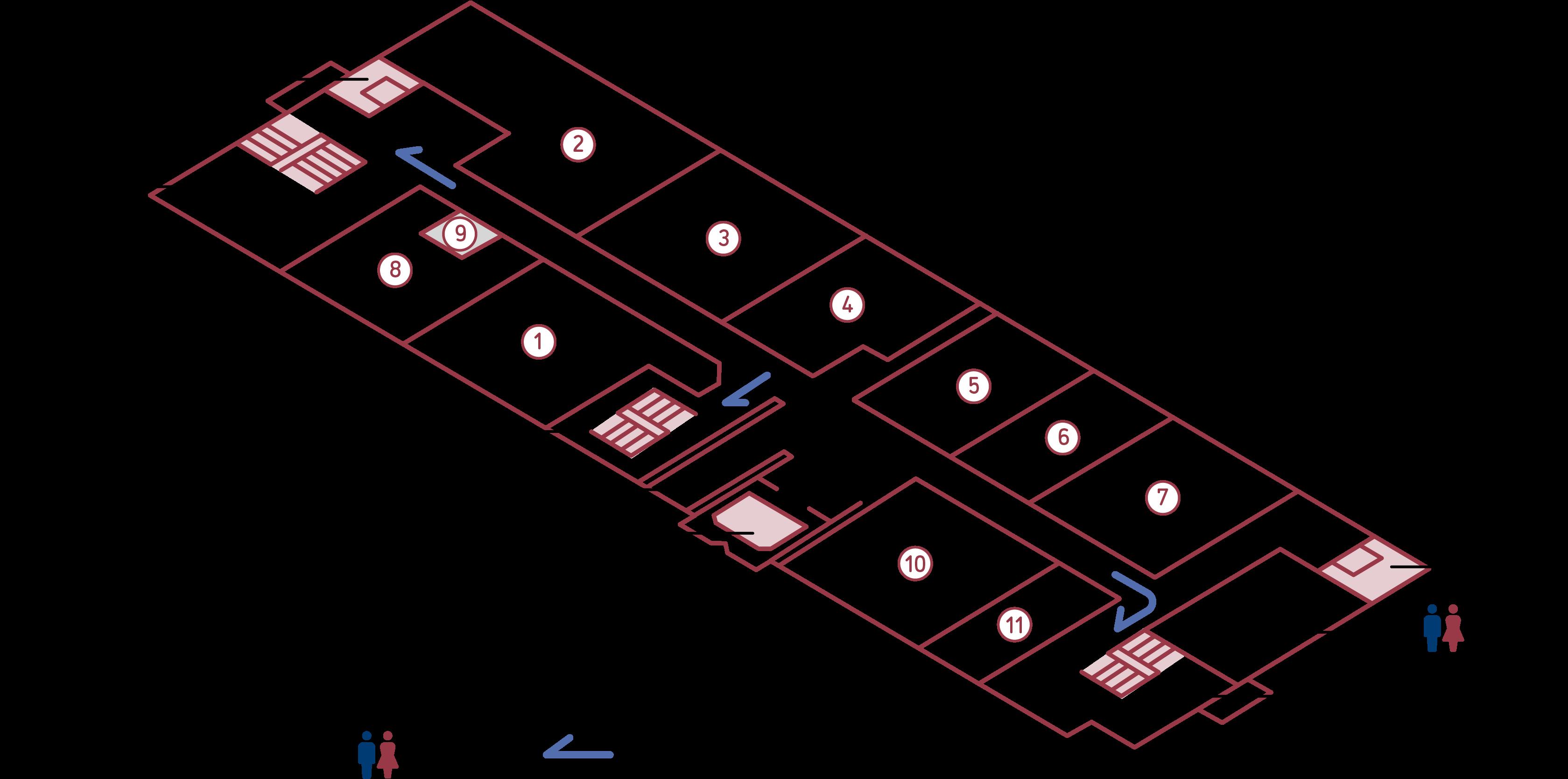 フロアマップ 8F